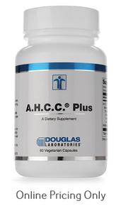 DOUGLAS LABORATORIES AHCC PLUS 60vcaps