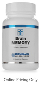Douglas Laboratories Brain Memory 60vcaps