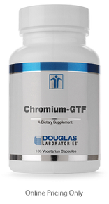 Douglas Laboratories Chromium GFT 100vcaps