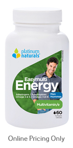 Platinum Naturals EasyMulti Energy Men 60sg