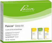Pascoe Detox Kit 50ml x 3