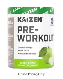Kaizen Naturals Pre-Workout Crisp Apple 228g