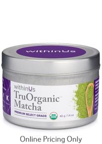 WithinUs Tru Organic Matcha 40g