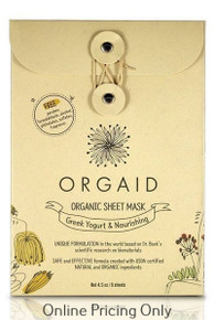 ORGAID GREEK YOGURT SHEET MASK 4pack