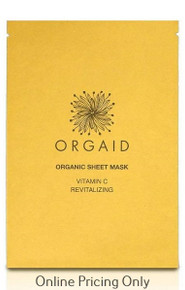 Orgaid Vitamin C Sheet Mask 1pcs