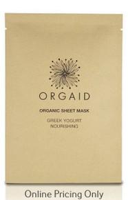 ORGAID GREEK YOGURT SHEET MASK 1PCS