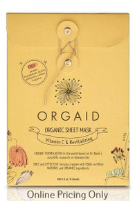 Orgaid Vitamin C Sheet Mask 6pack