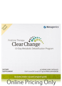 Metagenics Clear Change Program 10Day Vanilla 1pcs