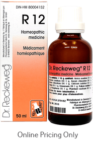 DR RECKEWEG #12 50ml