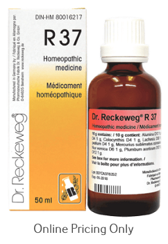 Dr  Reckeweg #37 50ml at Finlandia Health Store, Canada