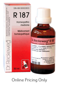 DR RECKEWEG #187 50ml