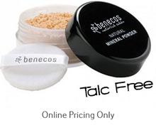 Benecos Natural Mineral Powder Light Sand 10g