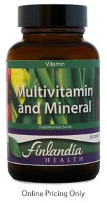 Finlandia Multivitamin & Mineral 60tabs