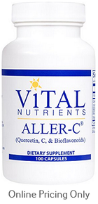 Vital Nutrients Aller-C 100caps