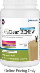 Metagenics Ultra Care Renew Vanilla 819g