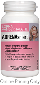 Lorna Vanderhaeghe Adrenasmart 180vcaps