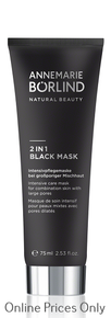 Annemarie Borlind 2 in 1 Black Mask 75ml