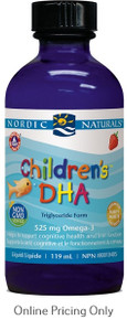 NORDIC NATURALS CHLDRN DHA STRAWBERRY 118ml