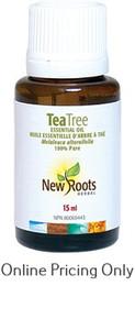 NEW ROOTS TEA TREE ESSENTIAL OIL 15ml