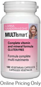 Lorna Vanderhaeghe MultiSmart 180vcaps