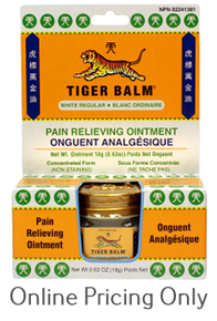 Kishu Tiger Balm White Regular 18g