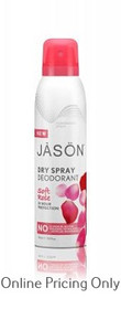 Jason Dry Spray Deodorant Soft Rose 113ml