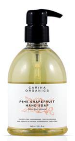 Carina Organics Pink Grapefruit Hand Soap 360ml