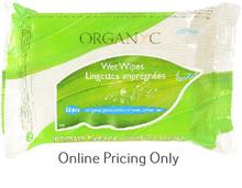 Organyc Intimate Wet Wipes 20pcs