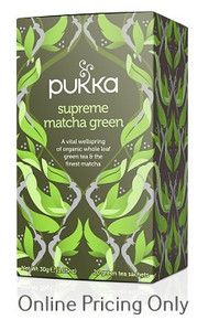 Pukka Supreme Matcha Green Tea 20bgs