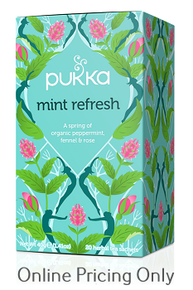 Pukka Mint Refresh Tea 20bgs