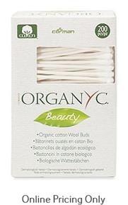 Organyc Beauty Cotton Swabs 200pcs