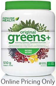 Genuine Health Greens + Original 510g