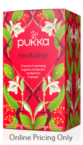 Pukka Revitalise (Kapha) Tea 20bgs