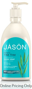 Jason Tea Tree Liquid Satin Soap 473ml