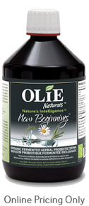 Olie Naturals New Beginnings  500ml