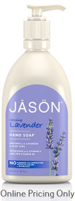 Jason Lavender Hand Soap 473ml