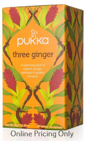 Pukka Three Ginger Tea 20bgs
