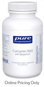 Pure Encapsulations Curcumin 500 w/ bioperine 60vc