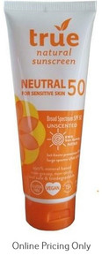 True Natural Sunscreen SPF 50 Neutral 100ml