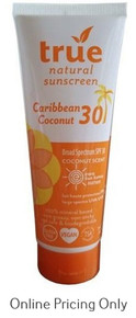 True Natural Sunscreen SPF 30 Coconut 100ml