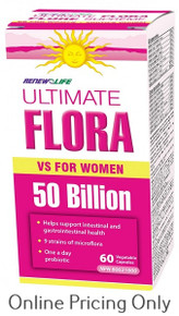 Renew Life Ultimate Flora Vaginal Support 60s