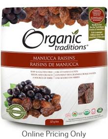 Organic Traditions Manucca Rasins 227g