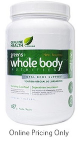 GENUINE HEALTH FERMENTED WHOLE BODY NATURAL 487g