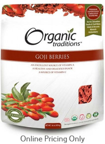 Organic Traditions Goji Berries 454g