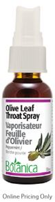 Botanica Olive Leaf Throat Spray 30ml