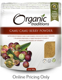 NATURAL TRADITIONS CAMU BERRY POWDER 100g