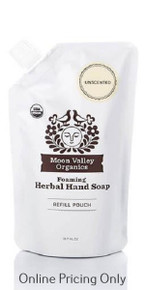Moon Valley Organics Unscented Refill 295ml