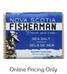 Nova Scotia Fisherman Sea Salt Bar Soap 136g