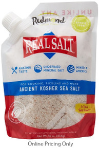 Redmond Gourmet Kosher Sea Salt 454g