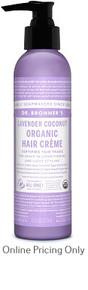 Dr. Bronner's Hair Creme Lavender 117ml
